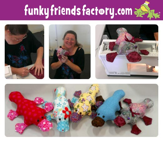 How to sew a soft toy class