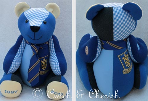 Cwtch-and-Cherish keepsake bear