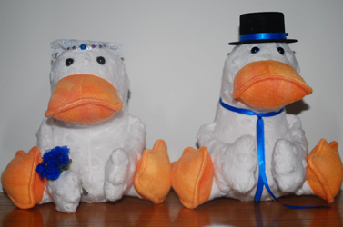 Duck Softies Pattern - Melissa