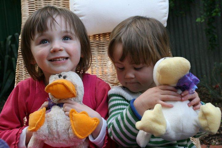 Duck stuffed toy sewing pattern