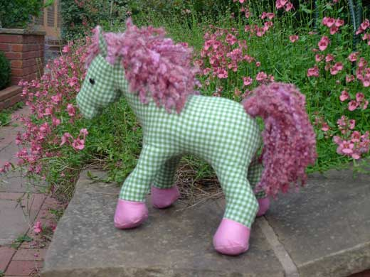 Horsey Softies Pattern - Jan