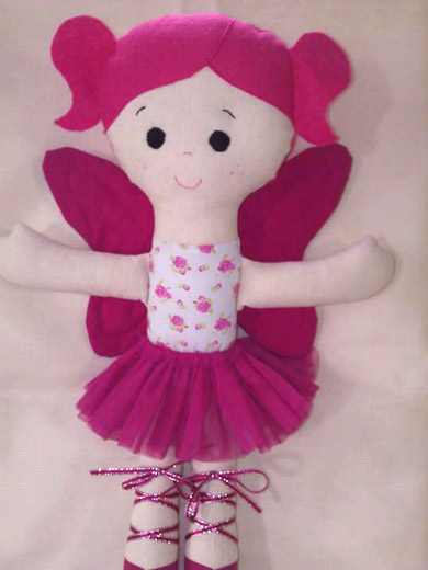 Sugar Plum Doll sewing Pattern - Kylie