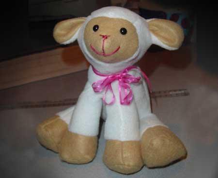 Lambkins lamb toy