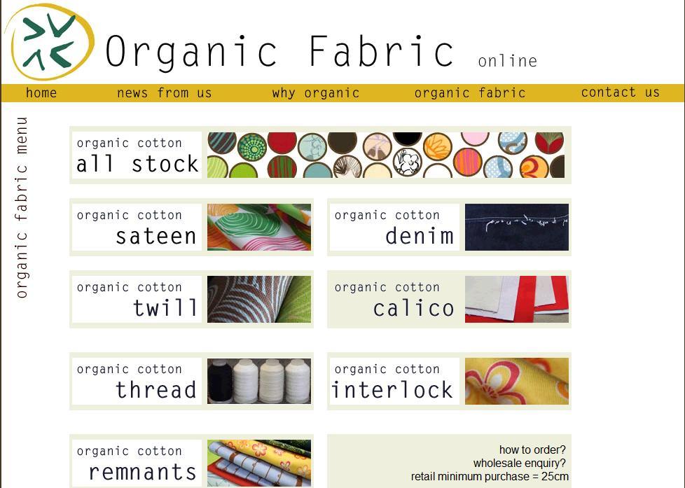 Cotton Thread Natural Organic