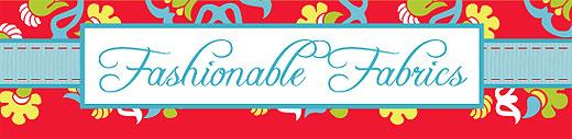 Fashionable Fabrics logo
