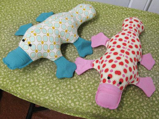 Urban Sewing Lounge workshop Platypus
