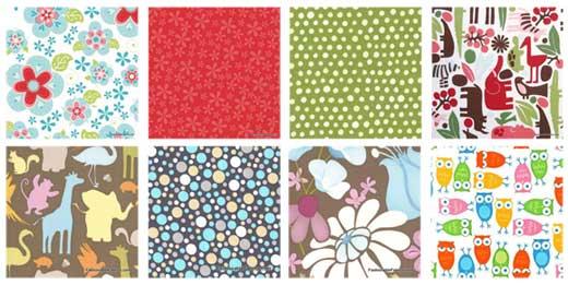 quilting fabric squares