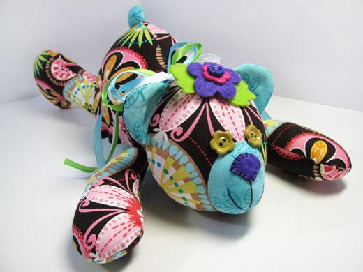 teddy bear fashionable fabrics