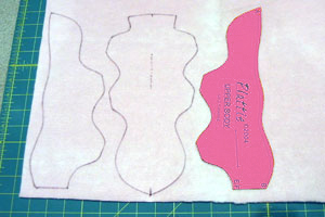 pattern fabric layout