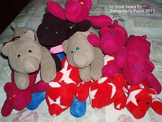 Billion Bears FREE teddy bear pattern