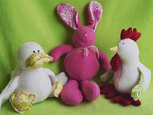 Baby Bunny pattern cute fabric