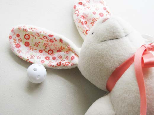 Baby Bunny toy rattles