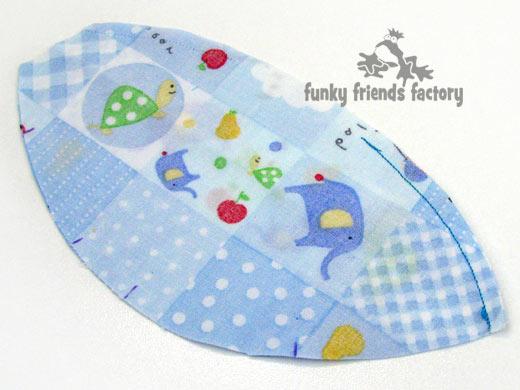dog sewing pattern tummy piece