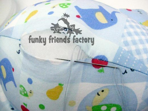 sew tummy closed