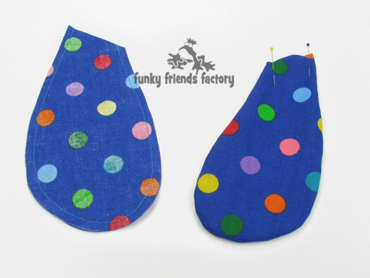 Dog toy easy sewing pattern