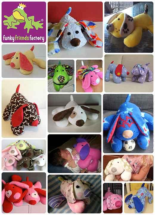 Puppy Pete feedback photos collage - web