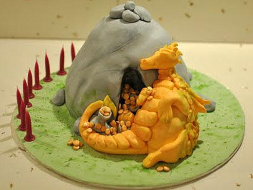 sleeping dragon cake - Taylor Made Baking
