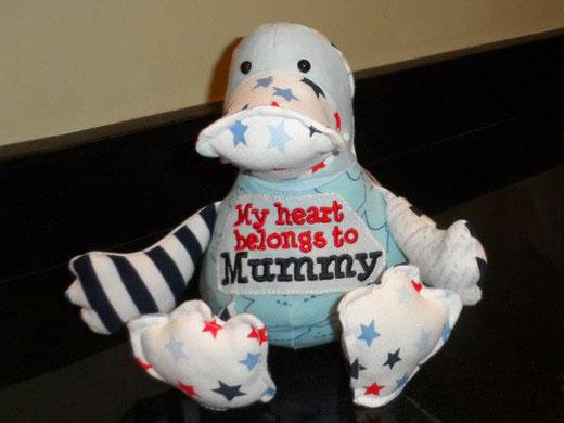 Cuddle Buddy Keepsakes - Funky Friends memory toy