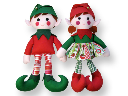 Elf Doll Christmas Sewing Pattern