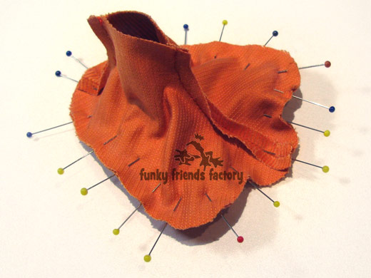 Duck photo tutorial - foot pads