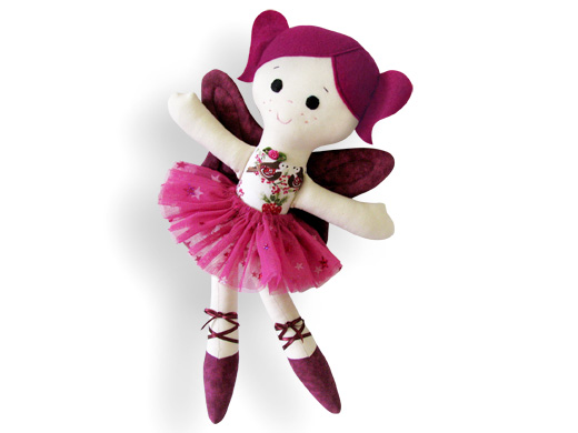 Fairy Ballerina Sugar plum - Cloth Doll Pattern