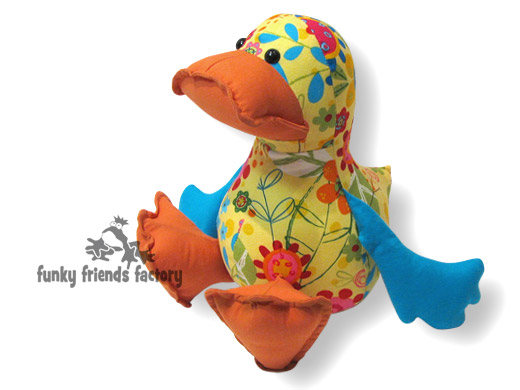 Duck sewing pattern