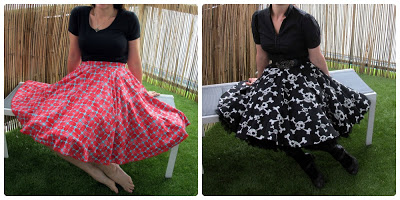 Finished Circle Skirts