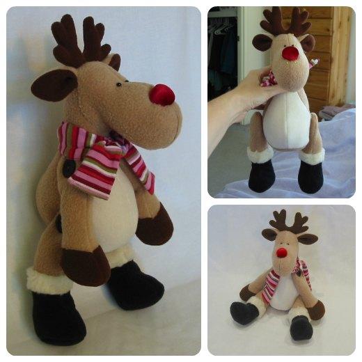 Reggie Reindeer sewing pattern