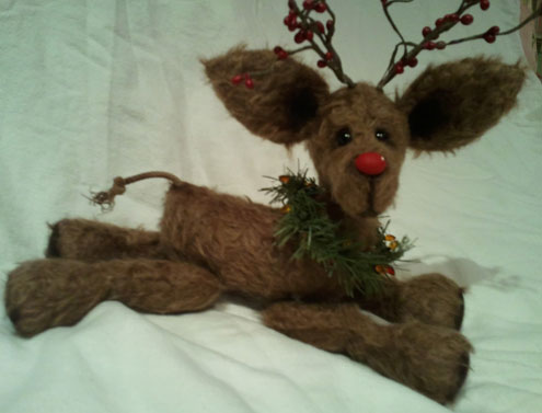 Deer sewing pattern reindeer sewing pattern bear