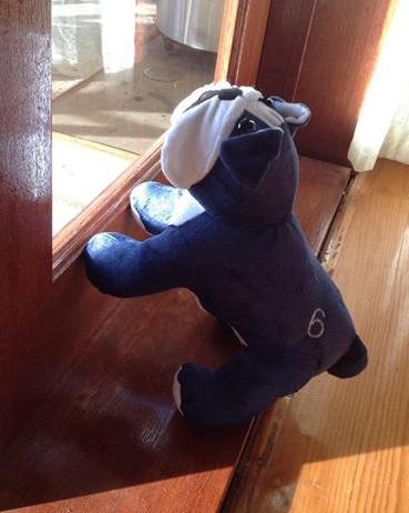 Bulldog stuffed toy sewing pattern - FB