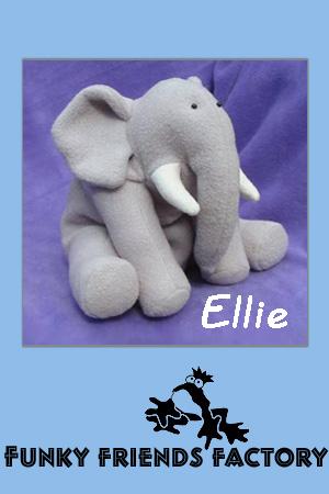 Ellie Elephant Pauline McArthur Funky Friends Factory