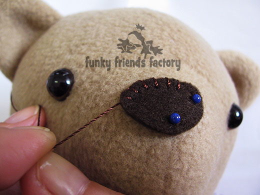 How To Sew My Non-jointed Fleece Teddy Bear