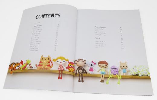 Mariska Vos Bolman Sew Cute To Cuddle Soft Toy Pattern Book