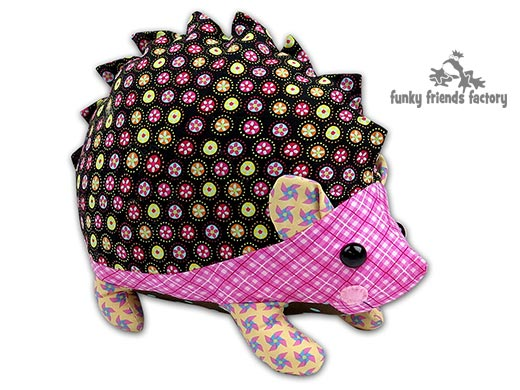 My NEW Hedgehog stuffed animal toy pattern needs a NAME! | Funky ...