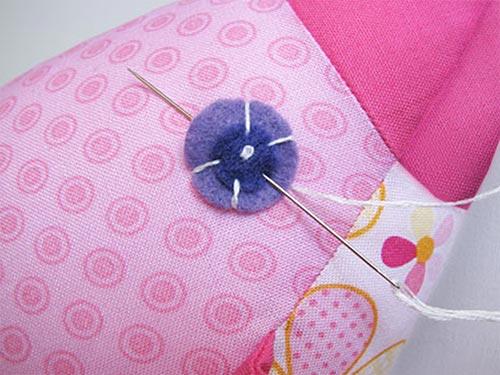 sew felt eye