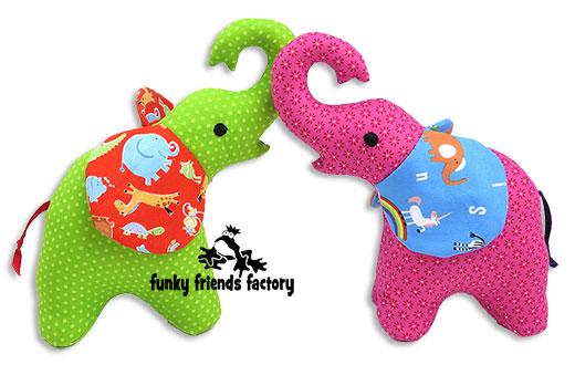 elephant toy pattern Pauline McArthur