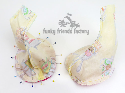 Easter Bunny Sewing Pattern Tutorial | Funky Friends Factory