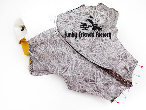 See me sew my Bald Eagle sewing pattern | Funky Friends Factory