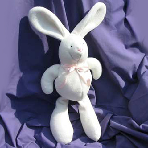 How to sew a baby-safe homemade toy bunny rabbit! | Funky Friends ...