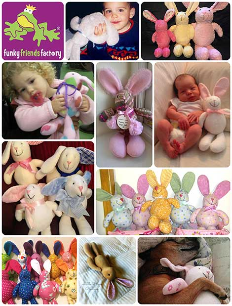 baby toy patterns bunny