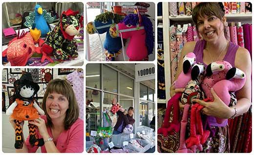 Voodoo Rabbit Fabric Shop  Collage
