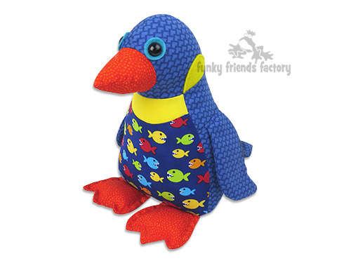 Sewing tutorial for Penny Penguin | Funky Friends Factory