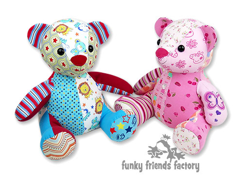 Memory toy-keepsake teddy bear