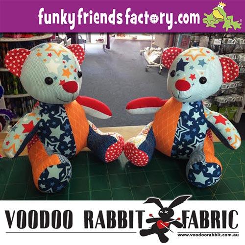Fabric giveaway Voodoo Rabbit Fabric