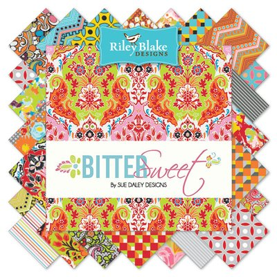 Sue Daley fabric Bittersweet