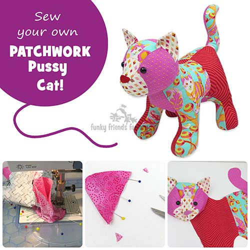 Pussy Cat Pattern Phototutorial