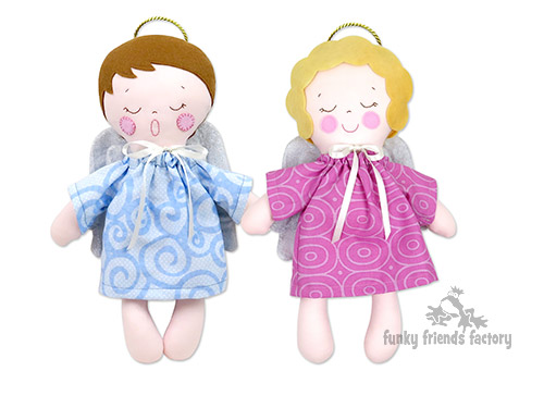 Adorable Angels Dol sewing pattern