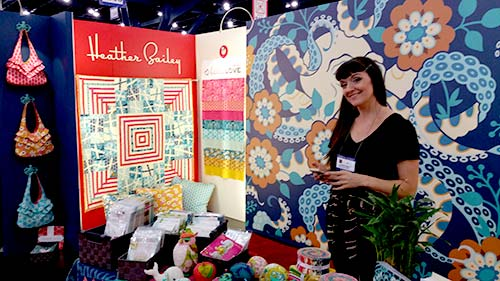 Heather Bailey Quilt Market 2016