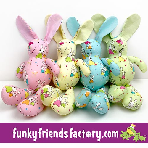 Easter Fabric Giveaway - Jodie Carleton\'s Bunny Trail fabric | Funky ...