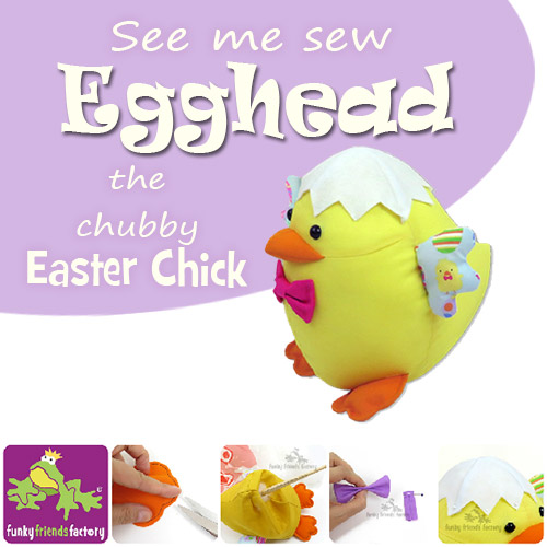 Easter Chick photo tutorial